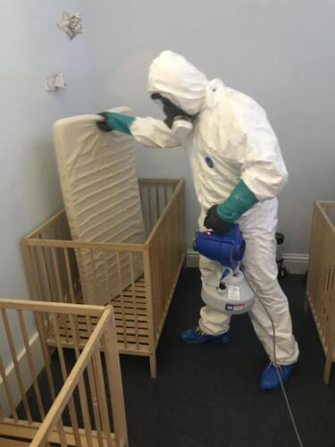 Monkey Puzzle Nursery Disinfection Service